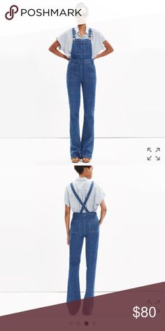 a4e416db7505 Madewell overalls size small NWT. Madewell OverallsJean ...