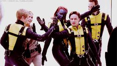 On the set of X-Men First Class