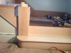 Best 44 Best Staircases Images Hardwood Stairs Red Oak 400 x 300