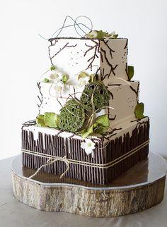 26 Amazingly Unique Wedding Cakes We Love. http://www.modwedding.com/2014/02/03/26-amazingly-unique-wedding-cakes-we-love/ #wedding #weddings #cakes