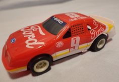Bill Elliott #9 Slot Car Ford Thunderbird NASCAR Car Racing Vintage AFX Tomy #AFX