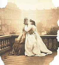 Balcony in london 1860's?