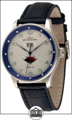 Zeno-Watch Reloj Mujer - X-Large Retro Big Date Power Reserve (12 crystal) - P590-Dia-g2-4  ✿ Relojes para hombre - (Lujo) ✿