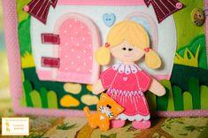 """Развивающая книга """"Кукольный домик"""" - Сообщество «Рукоделие» / Рукоделие"""