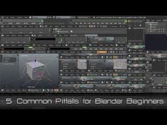http://www.cgmasters.net/free-tutorials/5-common-pitfalls-for-blender-beginners/