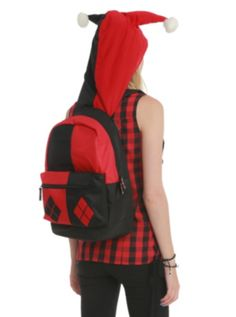 DC Comics Harley Quinn Suit-Up Backpack that I really would want if they do have it !!!