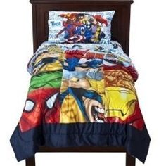 Sew A Superhero Bedspread From T Shirts, Material, Or Curtains