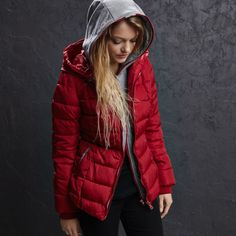 LR097-83X Hooded Jacket, Hoods, Winter Jackets, Fashion, Jacket With Hoodie, Winter Coats, Moda, Cowls, Winter Vest Outfits