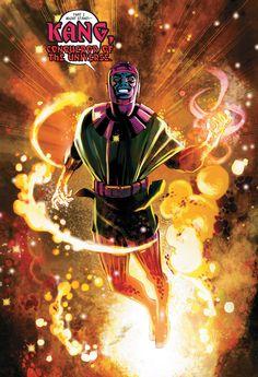 Kang Marvel Villains, Marvel Comics Art, Marvel Vs, Avengers Comics, Marvel Comic Character, Marvel Characters, Comic Book Heroes, Comic Books Art, Book Art