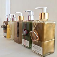 Nossos sabonetes líquidos, nossos designs.