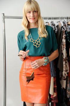 ::Orange//Leather::