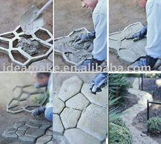 DIY Garden Tool Path-Mate DIY Stone Mold $2~$6