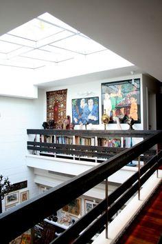 Books and art mezzanine