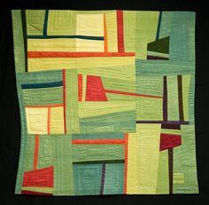 Exploration Series - Carolyn T. Abbott fiber art