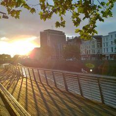 Bachelor's walk #dublin #sunrise #city #morning #liffey #bachelorwalk #nofilter #sun #ireland #summer