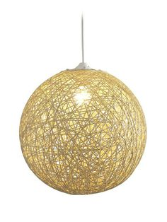 The Continuity Ceiling Lamp features beige paper rope, endlessly looped in a sphere for a stunning lighting effect. This modern pendant lamp works well over. Ceiling Pendant, Pendant Lighting, Ceiling Lights, Pendant Lamps, Light Pendant, String Lights, Light String, Hanging Lights, Home Decor Lights