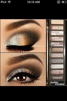 Cute eyeshadow