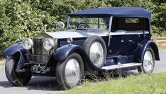 1927 Rolls-Royce Phantom I Tourer Chassis no. Old Rolls Royce, Rolls Royce Cars, Motor Scooters, Motor Car, Vintage Cars, Antique Cars, Large Luggage, Rolls Royce Phantom, Old Classic Cars
