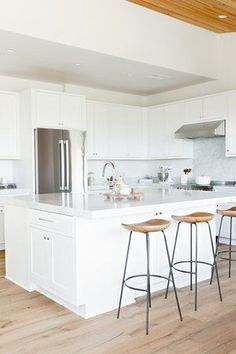 If you're considering an island for your kitchen, look to our tips, tricks, and advice to help you prepare for the newest addition to your home. #hunkerhome #kitchenisland #islandideas #kitchenislandideas