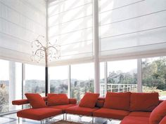 That is why the only thing that you have to do is use panel and fabric blinds for large windows. Anyway, you have to choose the best blind which is . Window Treatments Living Room, Living Room Windows, Living Rooms, Fabric Blinds, Curtains With Blinds, Window Blinds, Blinds For Large Windows, Best Blinds, House Blinds