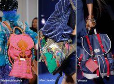 Runway Spring/ Summer 2017 Handbag Trends: Backpacks