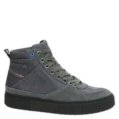 4ad5da1eed9 Diesel S-Danny MC II heren hoge sneakers grijs · High TopsDieselHigh ...