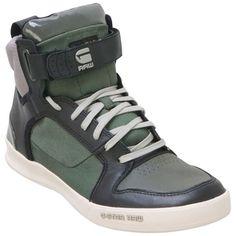 Buy Olive  G-Star Men's Yard Bullion GS52450 High-Top Sneaker shoes
