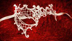 Venetian masquerade masks: Superb new designs of luxury Venetian masks for 2011