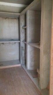 Construindo no Portal dos Pinheiros: Closet e Lavanderia de Alvenaria