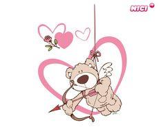 Wandtattoo Love Bär