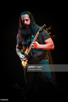 Dream Theater Perform on March 17, 2016 in Milan, Italy.