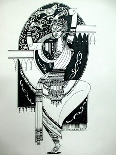 things to sketch Worli Painting, Kerala Mural Painting, Indian Art Paintings, Sketch Painting, Durga Painting, Madhubani Art, Madhubani Painting, Dark Art Drawings, Art Drawings Sketches