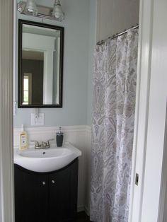 Lush Decor Fabric Ruffled SHOWER CURTAIN ~ Gigi Blue ~   Kids Bathroom    Pinterest   Ruffle Shower Curtains, Blue Shower Curtains And Kid Bathrooms