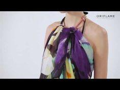 Video návod: Ako nosiť Pareo Linchao | Oriflame cosmetics