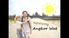 Travel Guide Vlog to exploring Angkor Wat and the Tomb Raider, Bayon, Angkor Thom and Ta Prohm temples. Explore Cambodia with The Married Wanderers during on. Angkor Wat Cambodia, Cambodia Travel, Travel Vlog, Travel Couple, Gopro, Wander, Attraction, Survival, Adventure