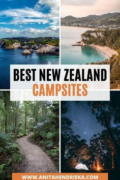 Want to know the most beautiful campsites in New Zealand? Here 16 beautiful places to visit in in New Zealand.  From the North Island, South Island, Wanaka, Queenstown and more! New Zealand nature and landscapes are some of the most beautiful travel destinations in the world. If you are going on a New Zealand road trip or New Zealand campervan trip then click to check out the post… #newzealandtravel #newzealandguide #newzealandbucketlists #newzealandcamping Beautiful Places To Visit, Beautiful Beaches, Cool Places To Visit, New Zealand Travel Guide, Road Trip New Zealand, Australia Travel Guide, Visit Australia, New Zealand Campervan, Travel Destinations