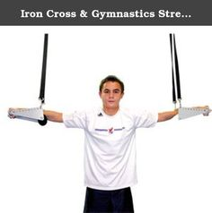 Iron Cross & Gymnastics Strength Trainer. Nylon strap and clip are included (not shown). The new Iron Cross Trainer, sold exclusively from DGS 9.9. This new device reduces the weight the gymnast holds while training the Iron Cross, Maltese, and Planche. Gymnasts and athletes from others sports as well can greatly benefit from arm, chest, and shoulder exercises, as they can do a full range of motions through all positions of the cross or planche with less effort. This allows gymnasts to…