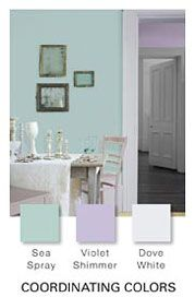 Glidden Paint Sea Spray Used In Floor Hallway One Wall Living Room And Second Stairwell Ann Gorski Dove White