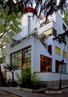 #ArtDeco | House for Mallet-Stevens, Paris, France
