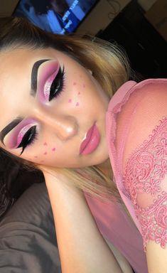 Valentine day makeup ❤️