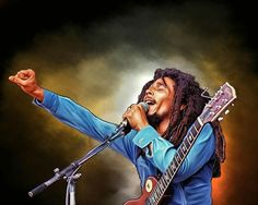 Bob Marley Digital Painting – Get Custom Art Arte Bob Marley, Bob Marley Legend, Reggae Bob Marley, Dancehall Reggae, Reggae Music, Canvas Poster, Poster Prints, Bob Marley Painting, Bob Marley Pictures