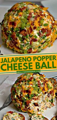 Appetizer Dips, Appetizers For Party, Mexican Appetizer Recipes, Easy Food For Party, Food For Parties, Jalapeno Poppers, Jalapeno Cheddar, Jalapeno Popper Recipes, Cheese Ball Recipes