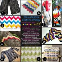Free Crochet Pattern Friday! Chevrons in Crochet! January 24, 2014 ~ Leave a Comment