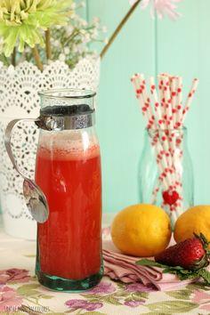 Limonada de fresas Frappuccino, Smoothies, Drinks, Cooking, Recipes, Milkshakes, Food, Wordpress, Strawberry Limeade