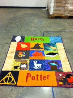 Kiwi's life: Harry Potter Quilt- Finished product