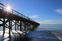 Goleta Pier from Beachside Bar-Cafe