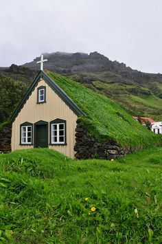 Turf Church in Iceland    ww.liberatingdivineconsciousness.com