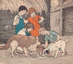 Dogs like milk ill by M. Davis | Flickr - Photo Sharing!