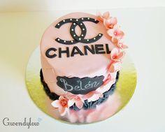 Tarta inspirada en la marca Chanel