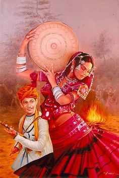 Rajasthani Painting, Rajasthani Art, Namaste, Art Sketches, Art Drawings, Tanjore Painting, Art Folder, Indian Art Paintings, Traditional Paintings